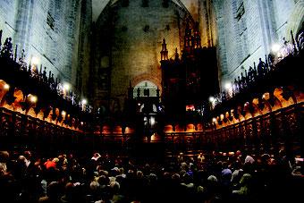 Concert d'orgue à la cathédrale de Saint Bertrand dans le cadre du festival du Comminges