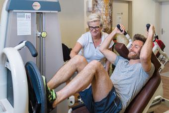 Fitnesstraining Widnau medizinisches Krafttraining Ausdauertraining Foto: ©nussbaumerphotography.com