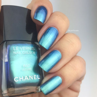 Swatch CHANEL AZURÉ 657 by LackTraviata