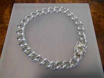 Rundpanzerarmband Panzerarmband Armband Silber antik