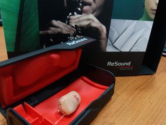 Audífonos invisibles con tecnología avanzada que emula el oído humano. Audífonos ReSound.