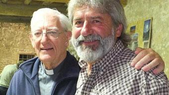 Padre Francesco e Diego Forunato