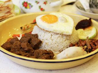 Cibo e cucina in Indonesia. Rendang