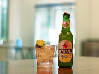 Cibo e cucina in Indonesia. Bintang Beer