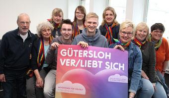 """Ein Programm für, mit und über """"Vielfalt"""" stellt die AG zur Veranstaltungswoche """"Gütersloh ver/liebt sich"""""""