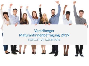 Maturanten*innenbefragung 2019 in Vorarlberg Bild:scrsht Bericht
