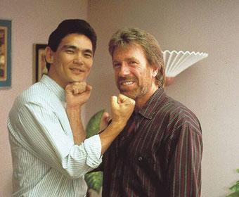 Don mit Chuck Norris