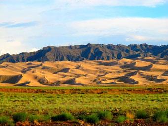 Sanddünen der Gobi am Zöölön Uul