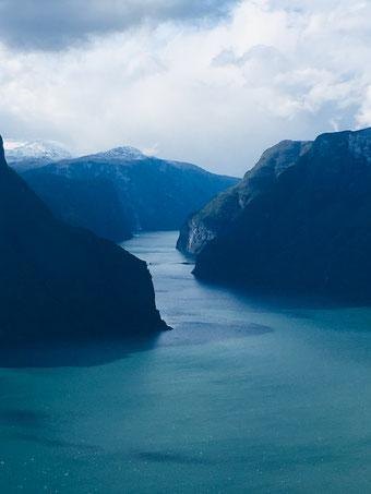 Die Fjorde in Norwegen sind traumhaft