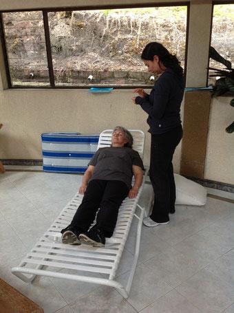 Terapia de Reiki con Ruth