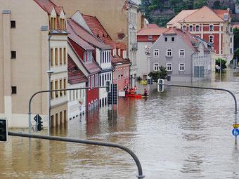 Hochwasser - Unwetter