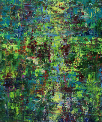 Beatrijs Tavernier - Graceland - Olie op canvas