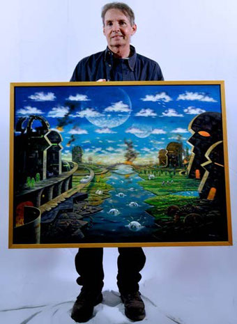 """Jack Connelly Holding """"My City Has Two Spirits"""""""