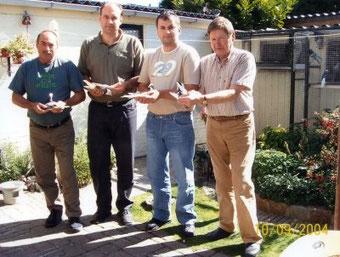 Antun, Rade Matic, Dragan Markovic, Pit van der Werf