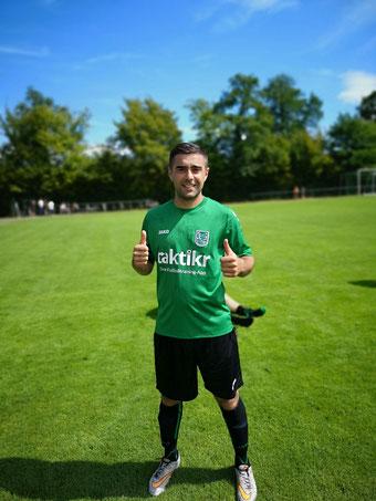 Matchwinner Orhan Allahverdi