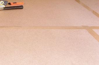 DUKSY Protect, Fußboden Abdeckplatten