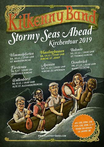 Veranstaltungsplakat der Kilkenny Band