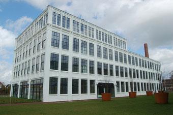 """Gebäude """"De Tricot' in Winterswijk - Holland. Textile Factory bis 70er Jahre"""