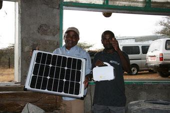 ケニアの孤児院用の電気として活用されるナノ発電所