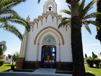 Reforma e ompermeabilización en huelva de la Iglesia del Cementerio