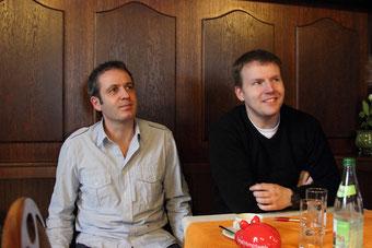 Fraktionsvorsitzender Achim Neupert (links) und neuer Beisitzer Martin Schmidberger