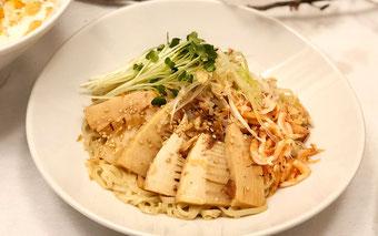 桜海老と筍のまぜ麺