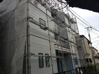 外壁、屋根の改修工事