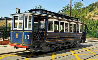 """""""Голубой вагон"""" в Барселоне"""