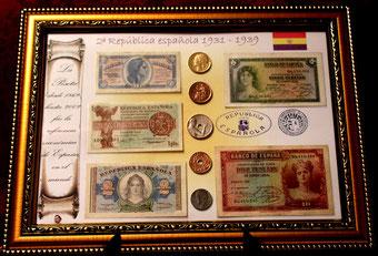 Dinero de la II República Española