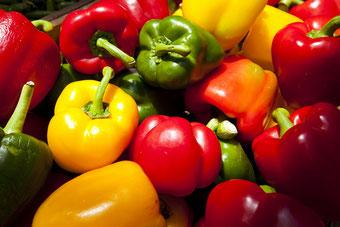 I peperoni in cucina