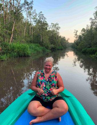 Genieten van een magische boottocht op Kalimantan
