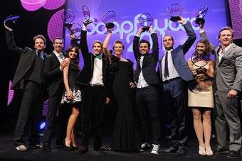 Lucy won the Femal Fan Award 2011