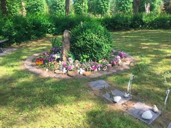 Sternenkinder Gedenkplatz Friedhof Salzwedel