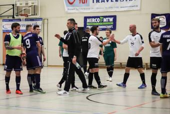 Der SVZ in der Rischmühlenhalle beim SWM-Cup.