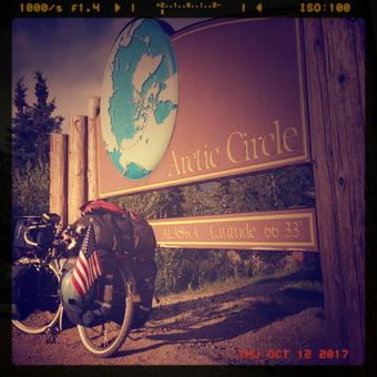 Arctic Circle in Alaska