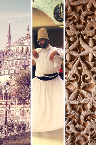 Istanbul, Orient Express, Derviches Tourneurs, Motifs Orientaux, Sculpture Bois, Danse Turc, Turque, Voyage, Voyager, Partir en Turquie, Voyage en Train