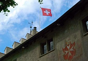 Johanniterorden, Fahne, Schweizerfahne, Kommende