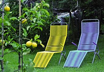 Liegestuhl, Warten, Sommer