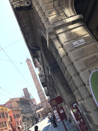 Palazzo di via Rizzoli, via degli artieri 2 bologna
