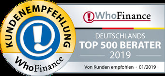 WhoFinance Top-Berater 2016