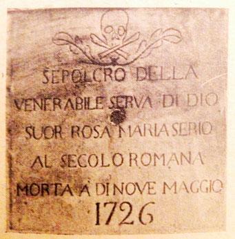 Ven. Rosa Maria Serio - Fasano