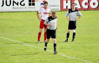 Comeback Siggi Gimlers in der Ersten Mannschaft des SVW am 22.5.2011