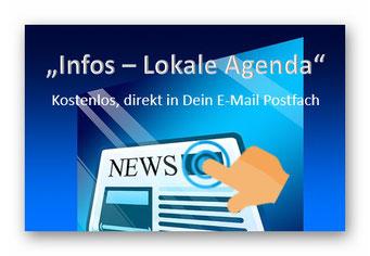 """Info - Lokale Agenda21"" direkt in Dein E-Mail Postfach"