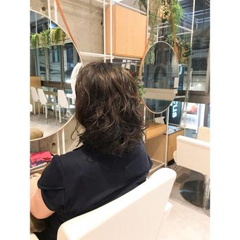 横浜 美容室 美容院 ヘアサロン 石川町 元町 パーマスタイル