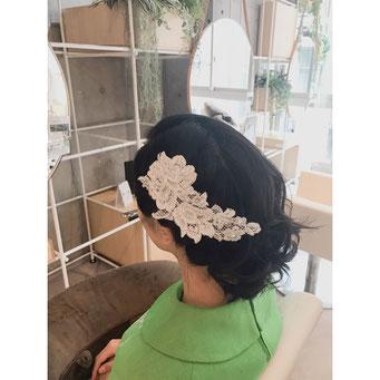 横浜・石川町、美容室Grantus,ヘアスタイル、早朝セット ヘアアレンジ 結婚式セット