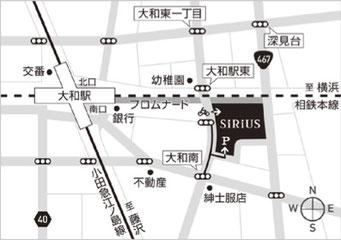 小田急江ノ島線・相模鉄道 大和駅より3分
