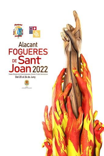 Fogueres de Sant Joan en Alicante Hogueras