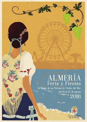 Feria de Almería 2016 Cartel y Programa