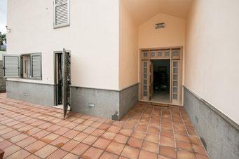 Eingangsbereich der Villa