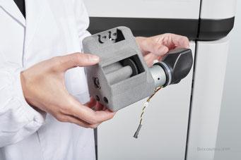 3D gedruckte Excenter Vibrations Baugruppe aus dem HP Jet Fusion 3D Drucker